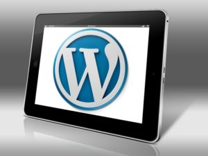 Wordpress sur tablette
